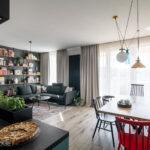 Salon z otwartą kuchnią – jaka podłoga sprawdzi się tu najlepiej?